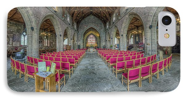 IPhone Case featuring the photograph St Asaph Cathedral by Ian Mitchell