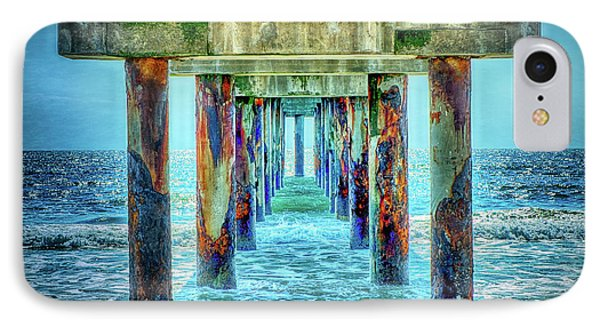 IPhone Case featuring the photograph St. Augustine Beach by Louis Ferreira