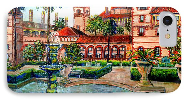 St Augustine Florida IPhone Case by Lou Ann Bagnall