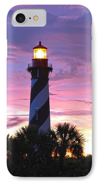 St. Augustine Light IPhone Case by Robert Och