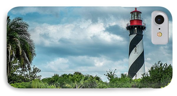IPhone Case featuring the photograph St. Augustine Lighthouse by Louis Ferreira