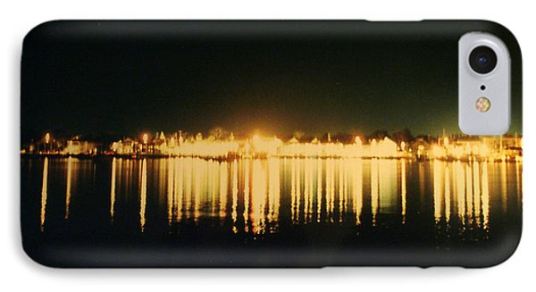 St. Augustine Lights IPhone Case by Kenneth Albin