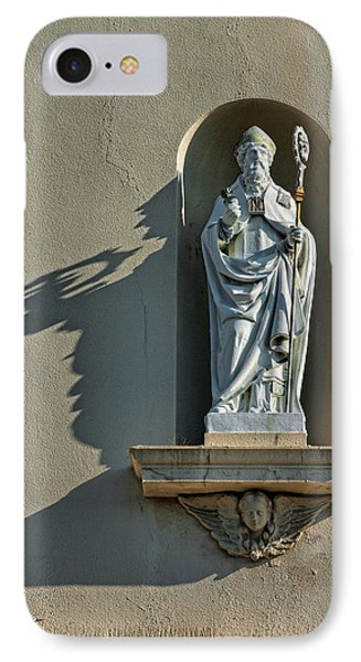 St. Augustine Of Hippo IPhone Case by Christopher Holmes