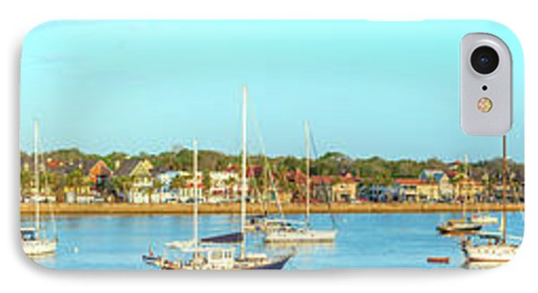 IPhone Case featuring the photograph St Augustine Panorama by Sebastian Musial