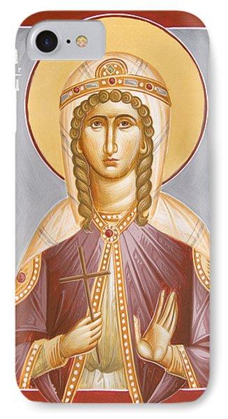 St Barbara Phone Case by Julia Bridget Hayes