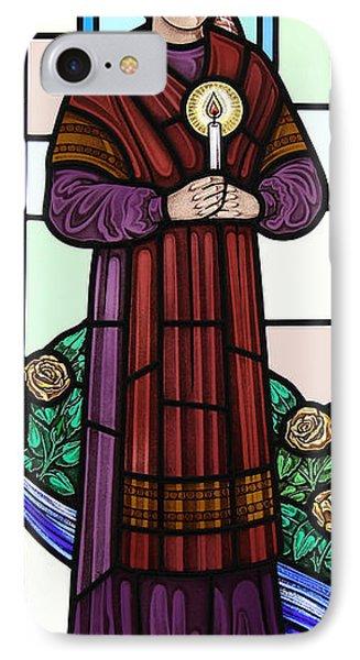 Saint Bernadette  IPhone Case