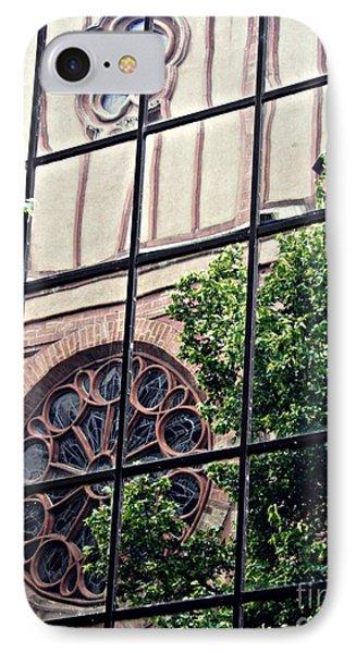St Boniface Church In Reflection  IPhone Case by Sarah Loft