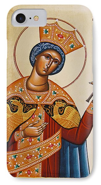 St Catherine Phone Case by Julia Bridget Hayes