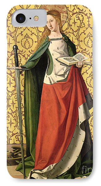 St. Catherine Of Alexandria IPhone Case