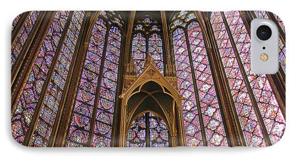 St Chapelle Paris IPhone Case by Alan Toepfer