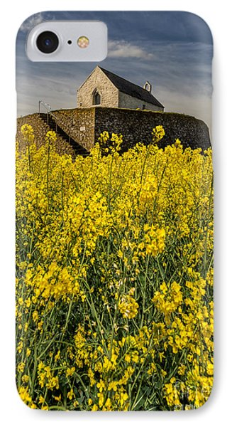 St Cwyfans Church IPhone Case by Adrian Evans