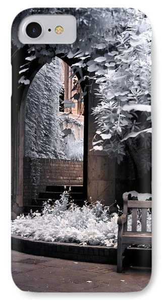 St Dunstan's In The East IPhone Case by Helga Novelli