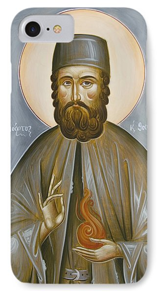 St Efraim Of Nea Makri Phone Case by Julia Bridget Hayes