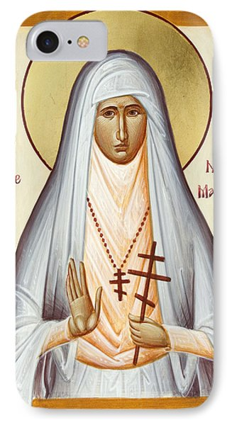 St Elizabeth The New Martyr Phone Case by Julia Bridget Hayes