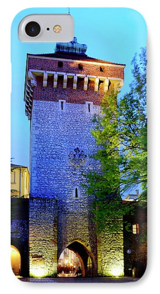 IPhone Case featuring the photograph St. Florian's Gate by Fabrizio Troiani