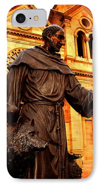 IPhone Case featuring the photograph Cathedral Basilica Of St. Francis Of Assisi by Susanne Still