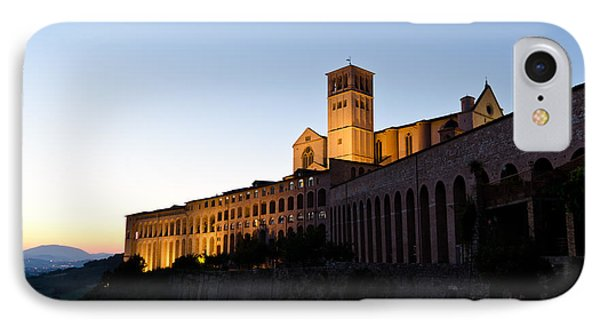 St Francis Assisi At Sundown Phone Case by Jon Berghoff