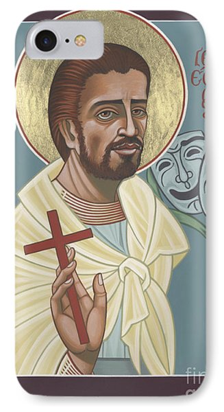 IPhone Case featuring the painting St Genisius Patron Of Actors 279 by William Hart McNichols