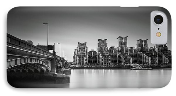 St. George Wharf IPhone Case by Ivo Kerssemakers