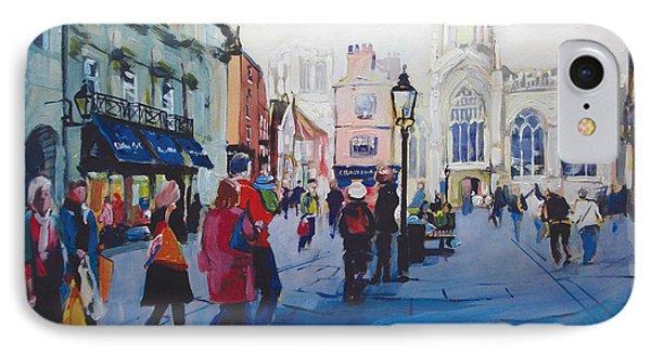 St Helen Square York Phone Case by Neil McBride