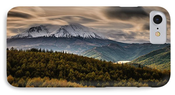 IPhone Case featuring the photograph St. Helens Wrath by Dan Mihai