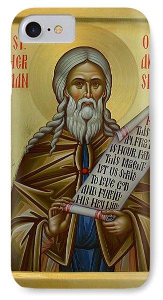 St. Herman Of Alaska IPhone Case by Daniel Neculae