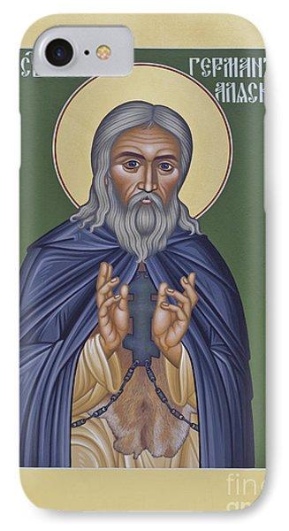 St. Herman Of Alaska  - Rlala IPhone Case by Br Robert Lentz OFM