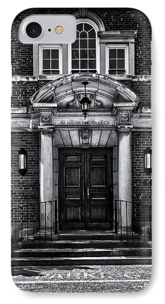 IPhone Case featuring the photograph St Hilda's College University Of Toronto Campus by Brian Carson