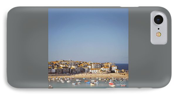 IPhone Case featuring the photograph St Ives Harbour by Lyn Randle