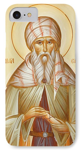 St John Of Damascus Phone Case by Julia Bridget Hayes