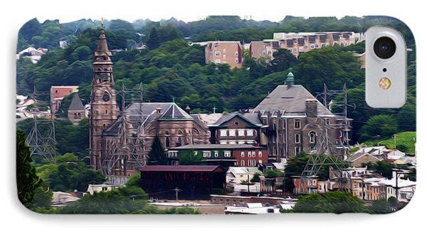 St John The Baptist Church Manayunk Philadelphia Phone Case by Bill Cannon