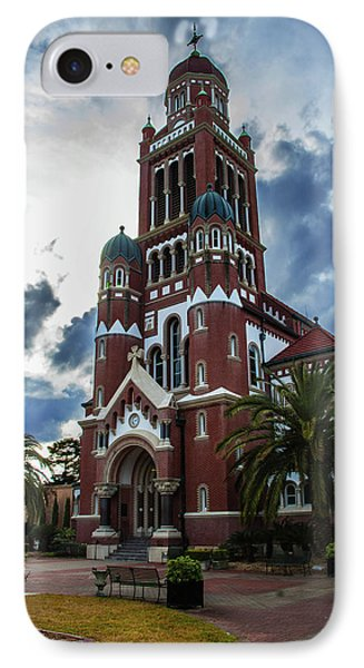 St. Johns Cathedral 1 IPhone Case by Robert Hebert