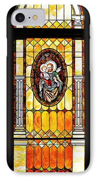 IPhone Case featuring the photograph St Joseph Immaculate Conception San Diego by Christine Till