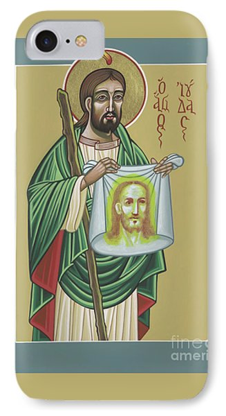 IPhone Case featuring the painting St Jude Patron Of The Impossible 287 by William Hart McNichols
