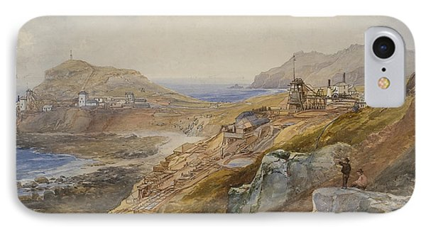 St Just United Mines IPhone Case by Thomas Hart