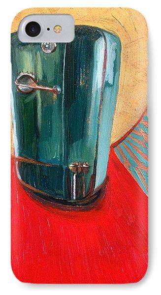 St. Kelvinator IPhone Case by Jennie Traill Schaeffer