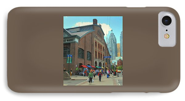 St Lawrence Market IPhone Case by Ian  MacDonald