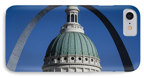 St. Louis Arch Phone Case by Andrea Silies