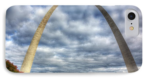 St. Louis Arch IPhone Case by Shawn Everhart