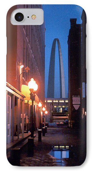 IPhone Case featuring the photograph St. Louis Arch by Steve Karol