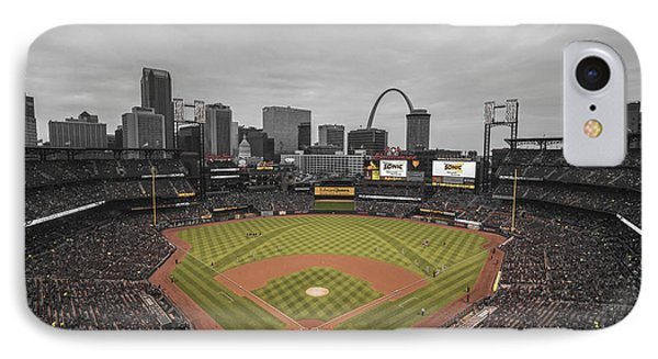 St. Louis Cardinals Busch Stadium Creative 17 IPhone Case
