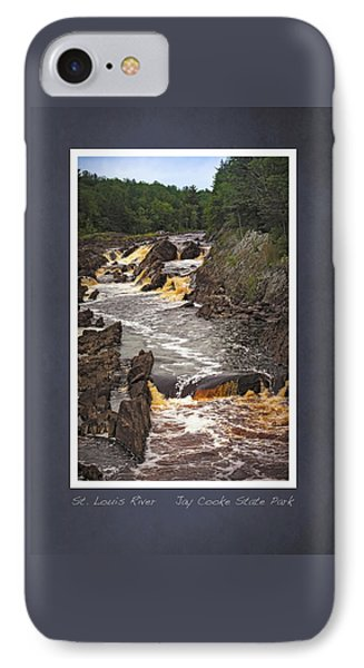 IPhone Case featuring the photograph St Louis River Scrapbook Page 3 by Heidi Hermes