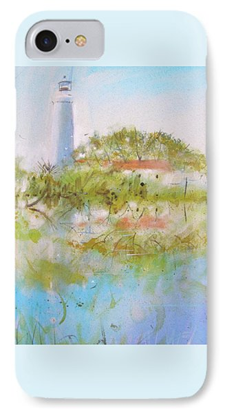 St Marks Lighthouse IPhone Case