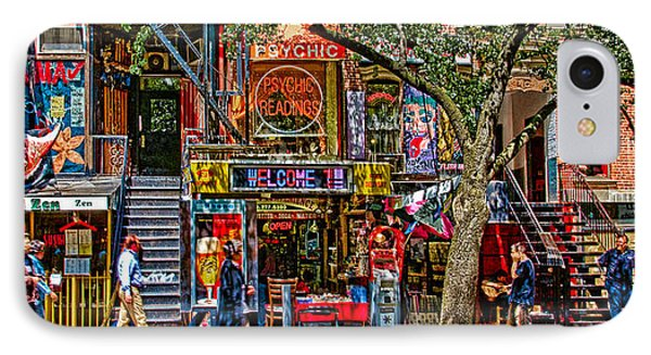 St Marks Place IPhone Case by Chris Lord