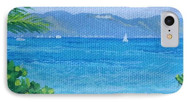 St Martin From Anguilla IPhone Case by Margaret Brooks