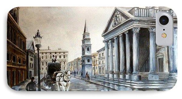 St Martins London IPhone Case by Art By Three Sarah Rebekah Rachel White