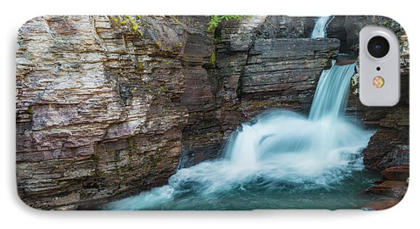 IPhone Case featuring the photograph St. Mary Falls by Gary Lengyel