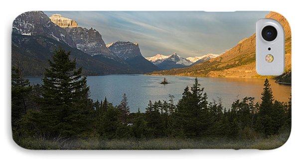 St. Mary Lake IPhone Case by Gary Lengyel