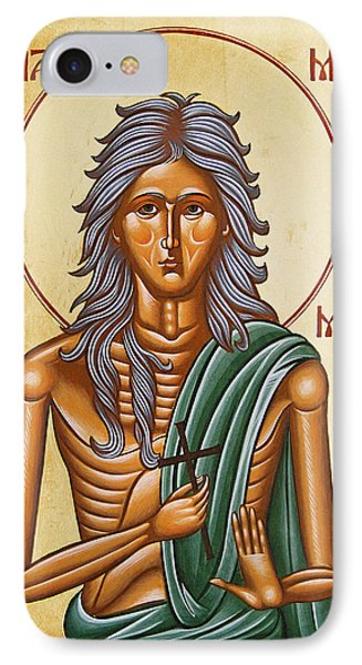 St Mary Of Egypt  Phone Case by Julia Bridget Hayes