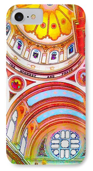 St. Mary Of The Angels 1 IPhone Case by Dave Luebbert